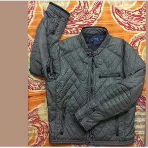 Polo Ralph Lauren Biker Moto Quilt Jacket Leather